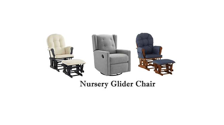 best nursery glider chairs